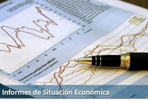Un ejemplo de informe, es el economico donde con gráficas se apoya la información proporcionada o reunida.