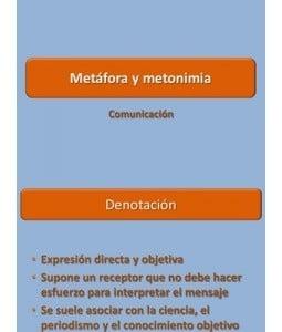 Ejemplos de metonimia, diferencia con la metáfora