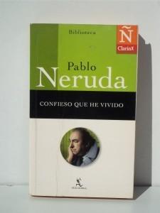 Ejemplo de autobiografía con el libro de Pablo Neruda.
