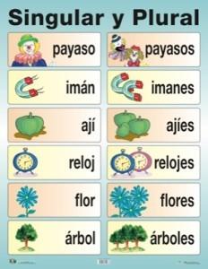 Ejemplos de sustantivos comunes, clasificación morfológica