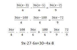Ejemplos de ecuaciones, transposición de términos