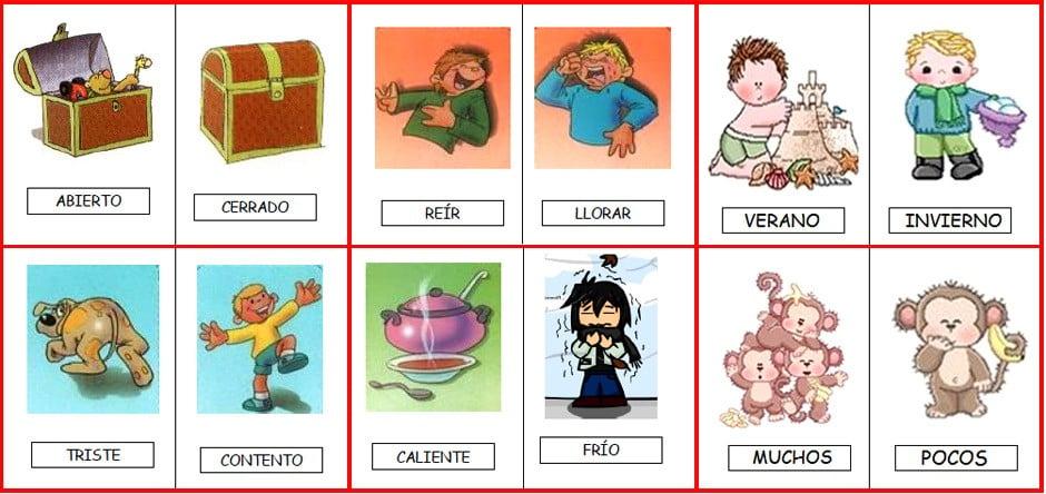 Ejemplos de sinónimos y antónimos - Ejemplos De - photo#25