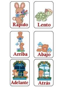 Ejemplos de sinónimos y antónimos, listado de antónimos
