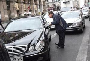 Frases en francés, en un taxi