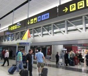 Objetos en ingles, en el aeropuerto