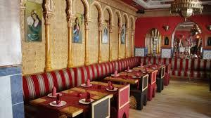 Palabras en árabe, en el restaurante