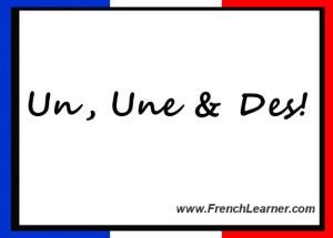 Palabras en francés, artículos