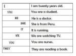 Pronombres en ingles