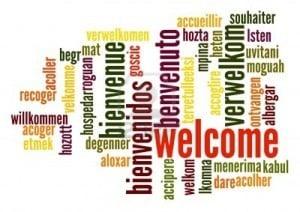 Palabras de bienvenida