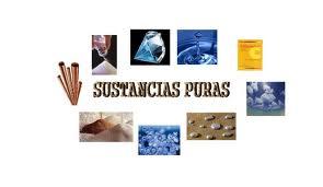 Ejemplos de sustancias puras, características