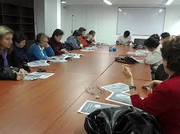 Palabras colombianas, en el trabajo