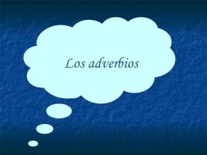 adverbios de modo