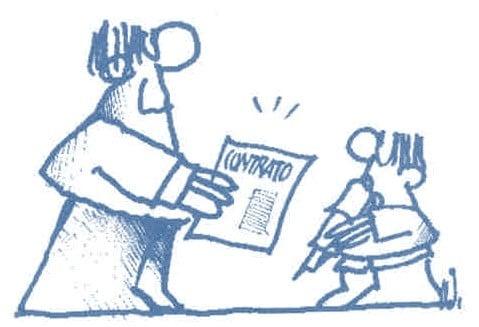 Contrato Individual De Trabajo Ejemplos De