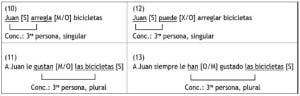 Ejemplos de sujeto expreso, ejemplos