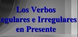 Ejercicios de presente simple, verbos regulares e irregulares