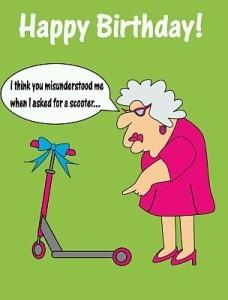 Felicitaciones de cumpleaños graciosas ser viejo | Ejemplos de