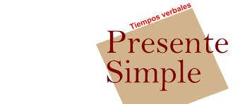 Oraciones En Presente Simple Ejemplos De