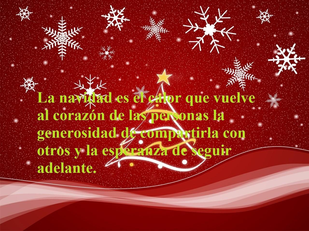 Navidad unas palabras para mis amigoslos de cerca y - Objetos de navidad ...