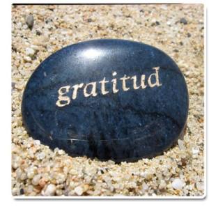 Si usted ha vivido tome con gratitud el pasado. | Ejemplos de