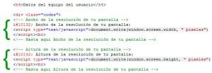 Comentarios en html, código fuente