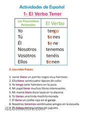 Conjugación del verbo tener, modo subjuntivo