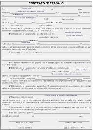 Ejemplo de contrato individual de trabajo, detalles