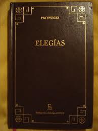 Ejemplo de elegía, grecolatina