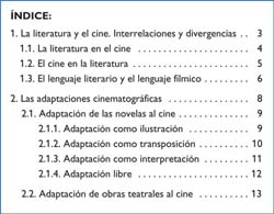 Ejemplos de índices, bibliográficos