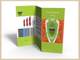 Ejemplos de folletos, díptico y tríptico