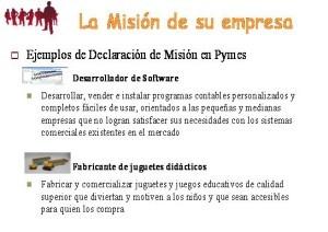 Ejemplos de misión y visión, misión