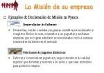 Ejemplos de misión y visión