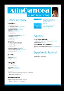Formatos de curriculum vitae para empleo