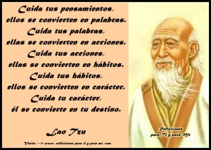 Palabras sabias de la vida, de Lao Tsé