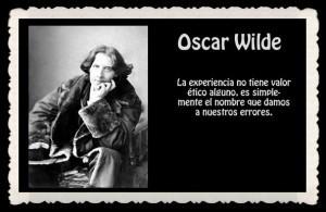 Palabras sabias de la vida, de Oscar Wilde