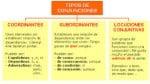 Tipos de conjunciones