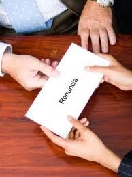 Carta renuncia voluntaria, como escribirla