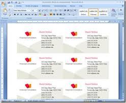 Como hacer tarjetas de presentación con Microsoft Word