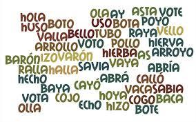 Ejemplos de palabras homónimas