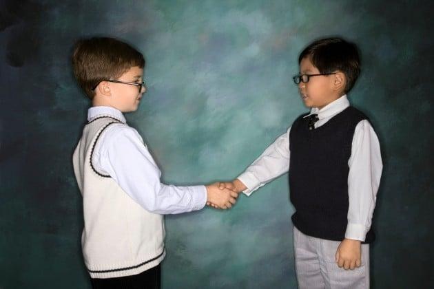 Kids Being Respectful