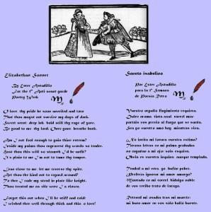 Ejemplos de sonetos, el tema