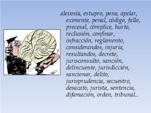 Ejemplos de tecnicismos juridicos