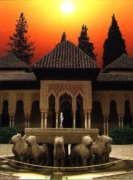 Ejemplos de topografía, Alambra de Granada