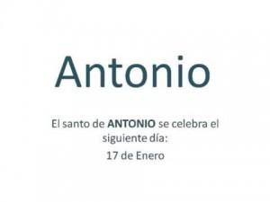 Significado del nombre Antonio, origen