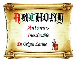 Significado del nombre Antonio, personalidad