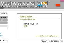 Tarjetas de presentación online con Businesscarland