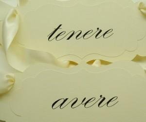 Verbos en italiano, avere (haber  tener)