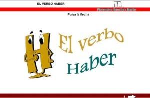 Verbos en presente perfecto, conjugación del verbo haber
