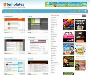 Características de los Ejemplos de blogs