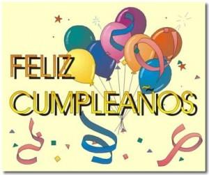 Carta de felicitaciones Por el cumpleaños