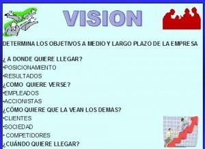 Ejemplos de visión de visión De una empresa de servicios